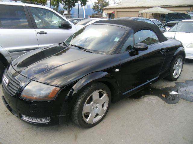 2001 AUDI TT 225HP QUATTRO AWD 2DR ROADSTER black abs - 4-wheel aluminum accents anti-theft sys