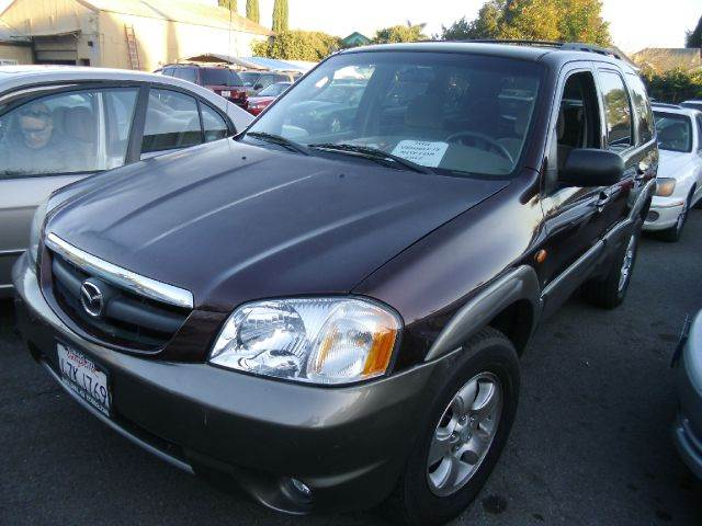 2002 MAZDA TRIBUTE LX maroon air conditioningalloy wheelsamfm radioanti-brake system non-abs