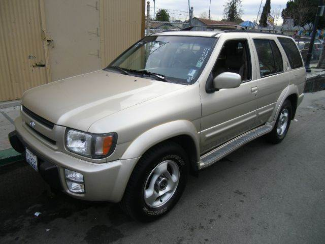 1997 INFINITI QX4 BASE 4DR STD 4WD SUV gold abs - 4-wheel anti-theft system - alarm bumper detai