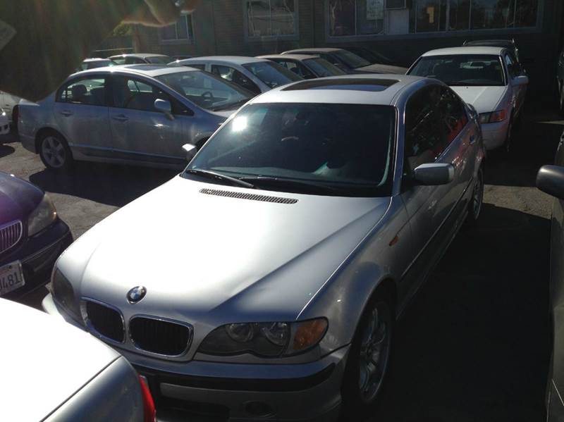 2002 BMW 3 SERIES 330I 4DR SEDAN silver 17 inch wheels abs - 4-wheel anti-theft system - alarm
