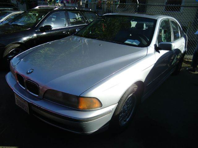 1997 BMW 5 SERIES 528I silver abs brakesair conditioningalloy wheelsanti-brake system 4-wheel