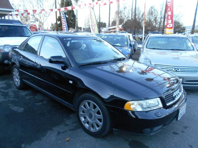 2001 AUDI A4 18T QUATTRO AWD 4DR SEDAN black abs - 4-wheel anti-theft system - alarm cassette