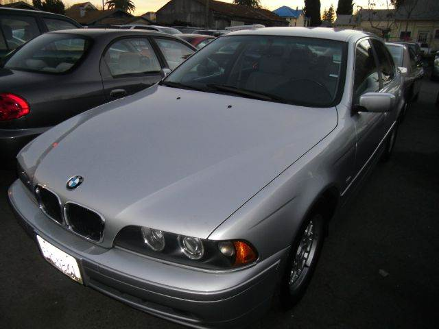 2002 BMW 5 SERIES 525I silver abs brakesair conditioningalloy wheelsamfm radioanti-brake syst