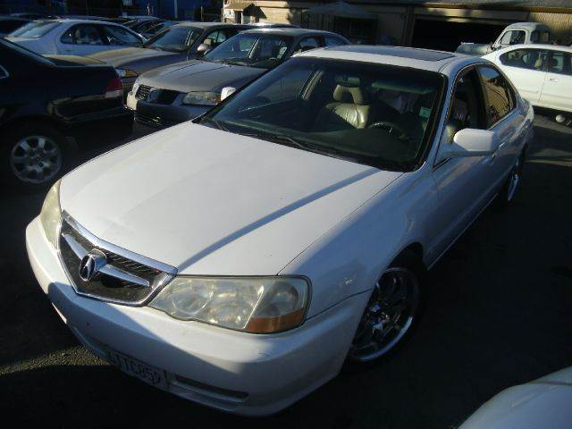 2002 ACURA TL 32 TYPE-S WNAVI 4DR SEDAN white abs - 4-wheel anti-theft system - alarm cassett
