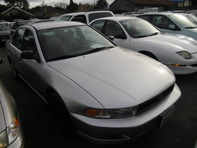 2000 MITSUBISHI GALANT DE silver air conditioningamfm radioanti-brake system non-abs  4-wheel