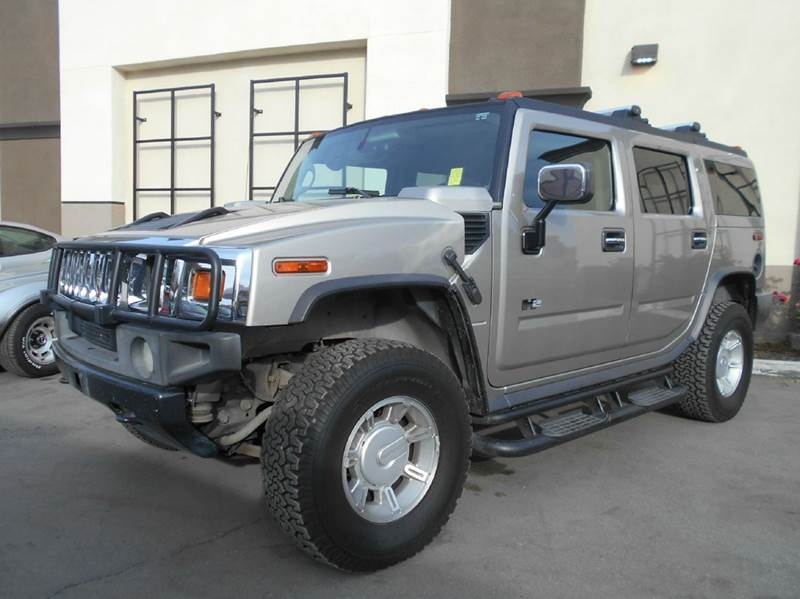 2004 HUMMER H2 BASE 4WD 4DR SUV gold 4wd selector - electronic hi-lo abs - 4-wheel anti-theft s