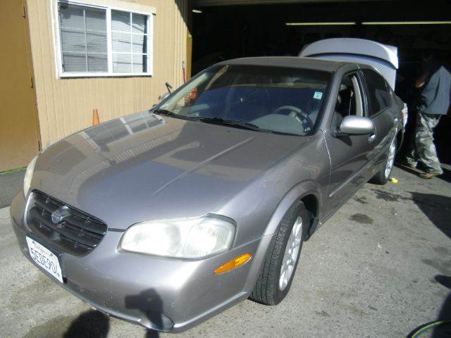 2001 NISSAN MAXIMA GLE 4DR SEDAN grey 16 inch wheels abs - 4-wheel alloy wheels anti-theft ala