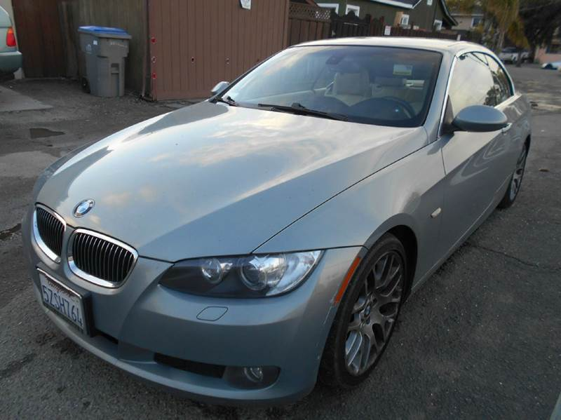 2007 BMW 3 SERIES 328I 2DR CONVERTIBLE blue 2-stage unlocking - remote abs - 4-wheel air filtra