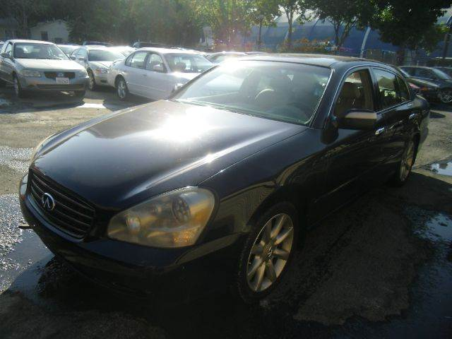 2002 INFINITI Q45 BASE 4DR SEDAN blue abs - 4-wheel anti-theft system - alarm cassette cd chang