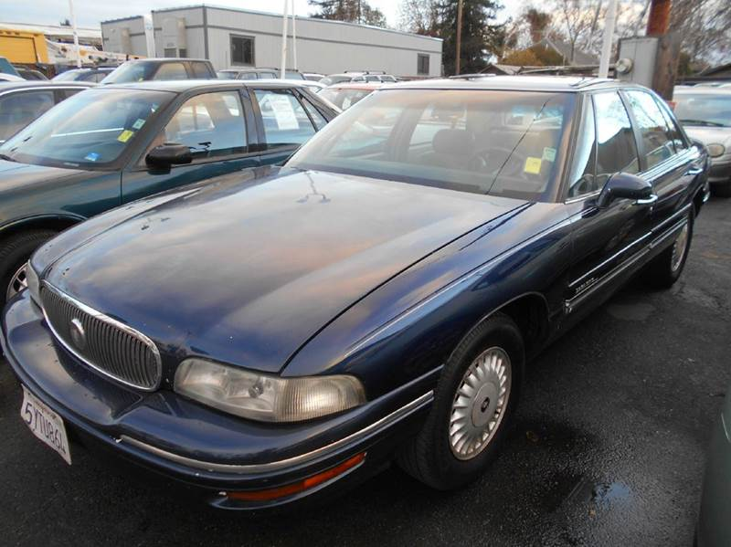 1998 BUICK LESABRE CUSTOM 4DR SEDAN blue abs - 4-wheel cruise control daytime running lights e