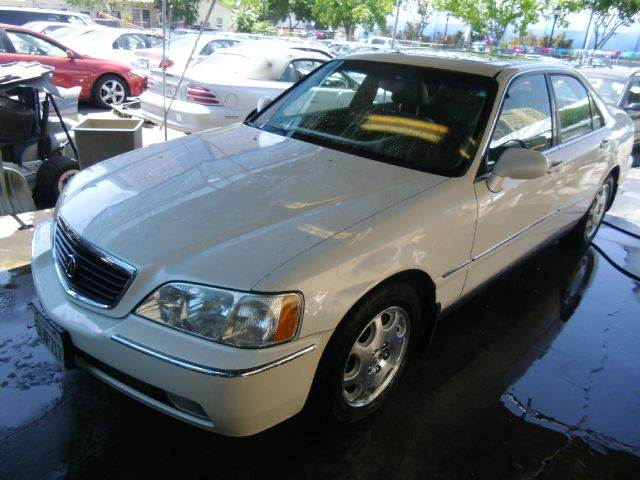 2000 ACURA RL 35 4DR SEDAN white 16 inch wheels abs - 4-wheel alloy wheels anti-theft alarm s