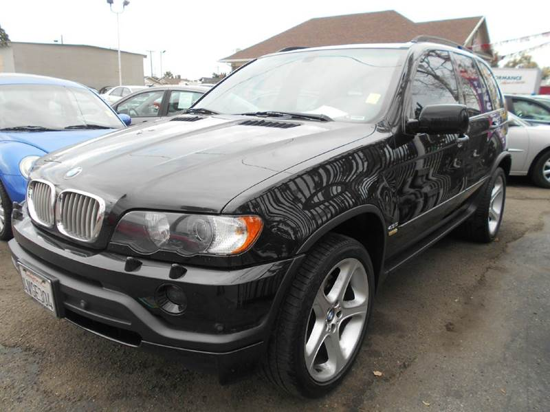 2002 BMW X5 black air conditioning alarm system all wheel drive alloy wheels amfm radio wcd