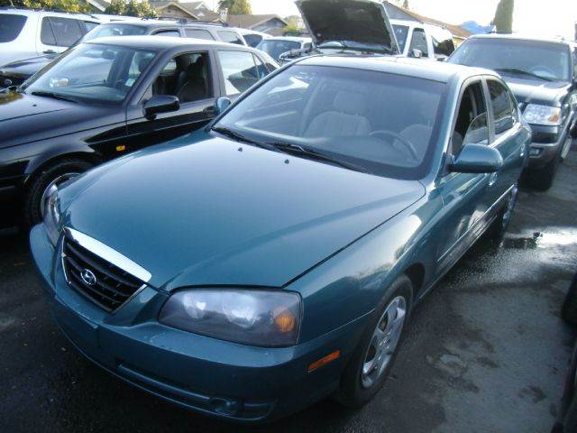2006 HYUNDAI ELANTRA GLS 4DR SEDAN 2L I4 4A green airbag deactivation - occupant sensing passen