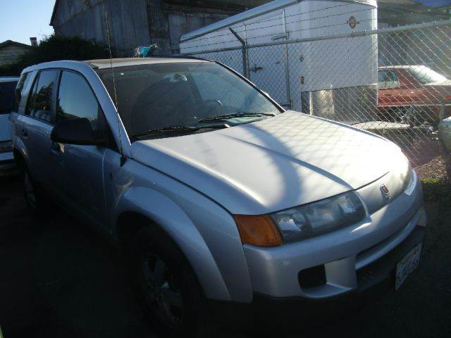 2004 SATURN VUE FWD silver air conditioningamfm radioanti-brake system non-abs  4-wheel absb