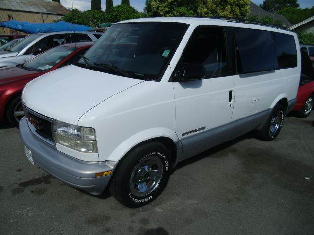 1999 GMC SAFARI SLE AWD 3DR PASSENGER VAN EXTEND white 15 inch wheels abs - 4-wheel cassette c