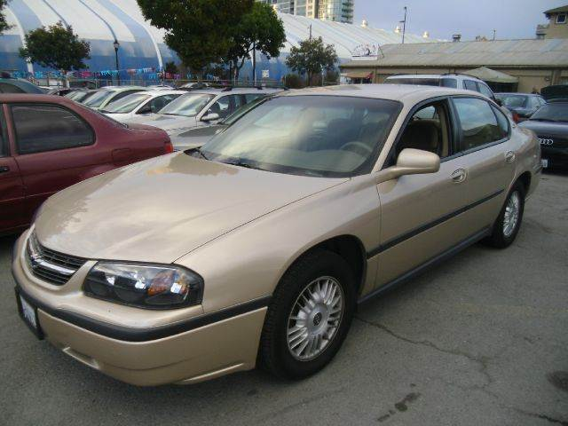 2000 CHEVROLET IMPALA 4DR STD SEDAN gold exterior mirrors - power front air conditioning front