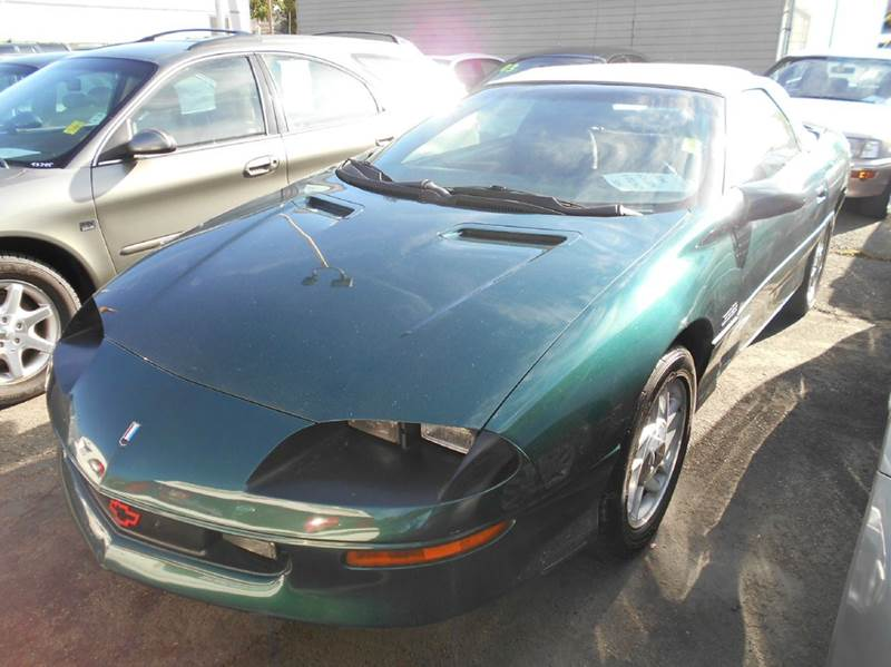 1995 CHEVROLET CAMARO Z28 2DR CONVERTIBLE green abs - 4-wheel antenna type - power cassette ce