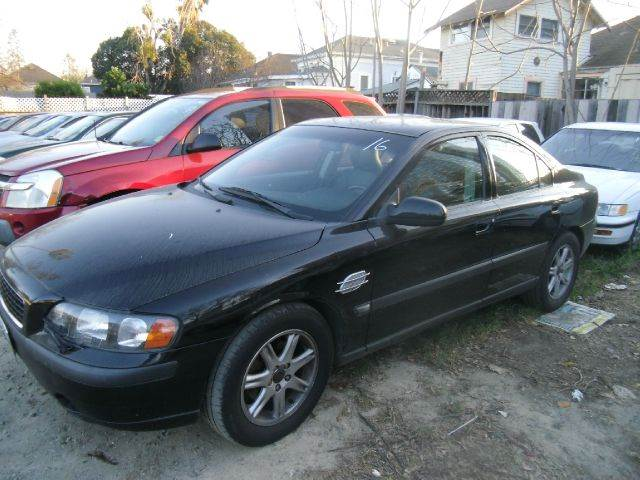 2001 VOLVO S60 24T 4DR SEDAN black abs - 4-wheel anti-theft system - alarm cassette center co