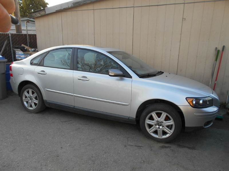 2006 VOLVO S40 R 24I 4DR SEDAN silver abs - 4-wheel active head restraints - dual front air fi