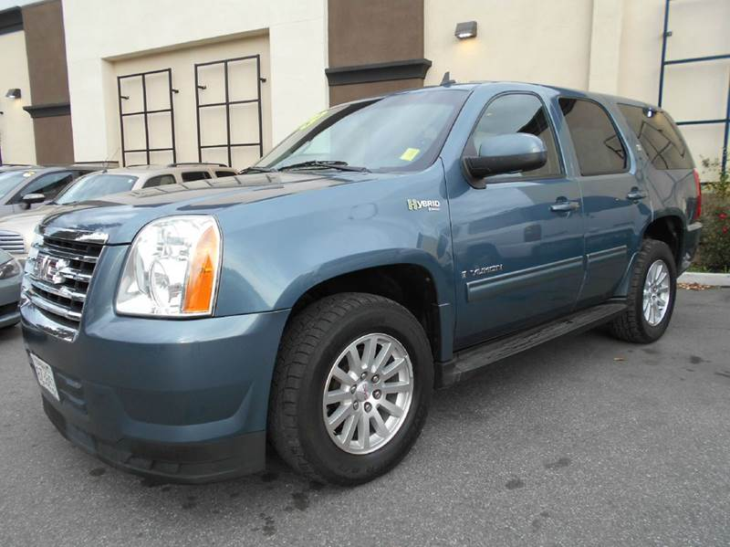 2009 GMC YUKON HYBRID 4X4 4DR SUV blue 2-stage unlocking doors 4wd type - part time w on demand