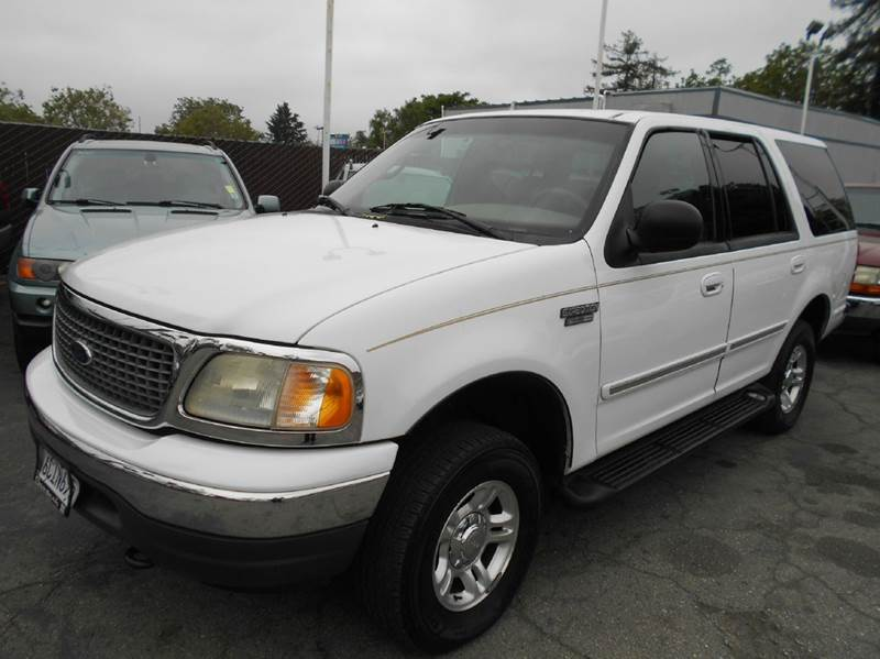 2002 FORD EXPEDITION XLT 4WD 4DR SUV white abs - 4-wheel adjustable pedals - power anti-theft s