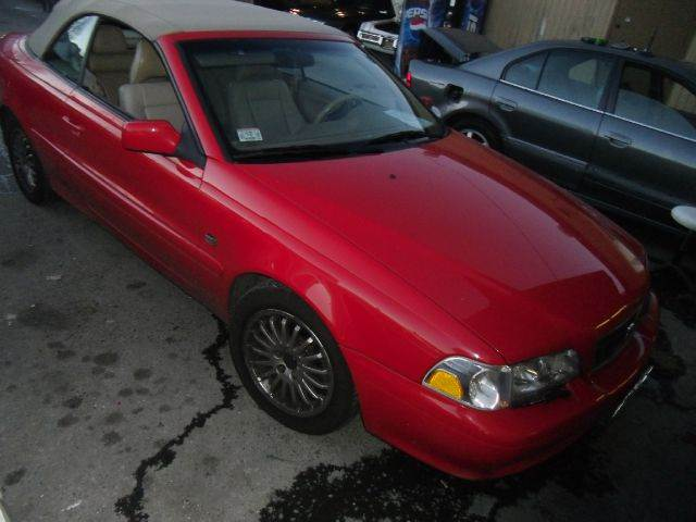 2004 VOLVO C70 LPT CONVERTIBLE red abs brakesair conditioningalloy wheelsamfm radioanti-brake