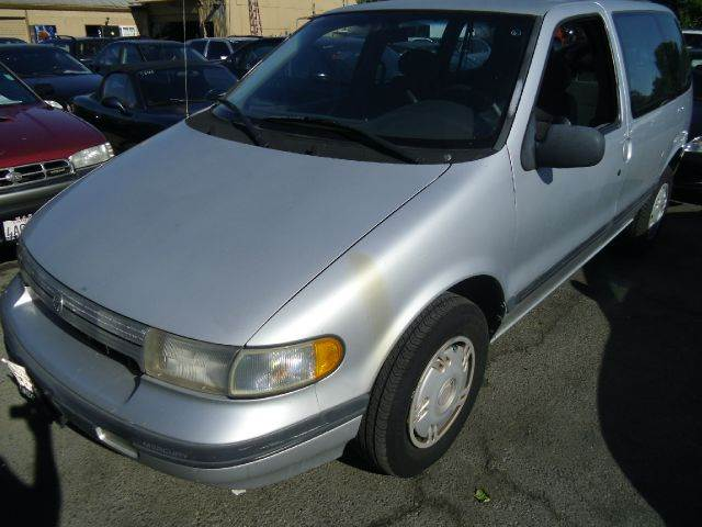 1993 MERCURY VILLAGER GS silver abs brakesanti-brake system 4-wheel absbody style sports vanc