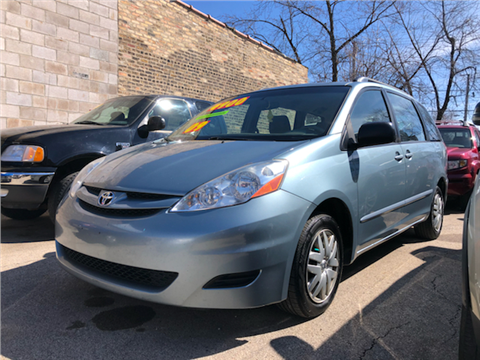 2009 toyota sienna for sale in chicago il. Black Bedroom Furniture Sets. Home Design Ideas