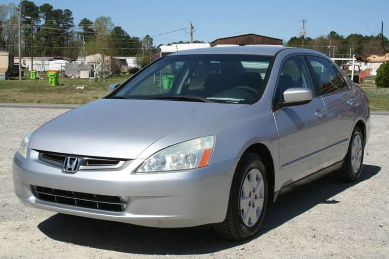2004 Honda Accord LX 4dr Sedan W/Side Airbags   Roanoke Rapids NC