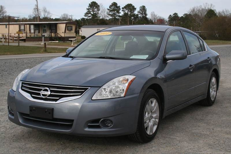 2011 Nissan Altima 25 S 4dr Sedan In Roanoke Rapids Nc Rheasville