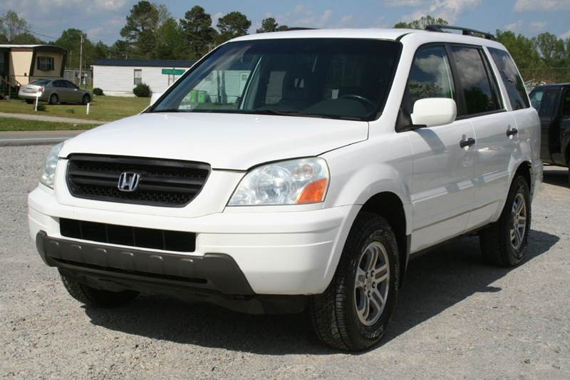Awesome 2004 Honda Pilot EX L 4dr 4WD SUV W/Leather And Entertainment System