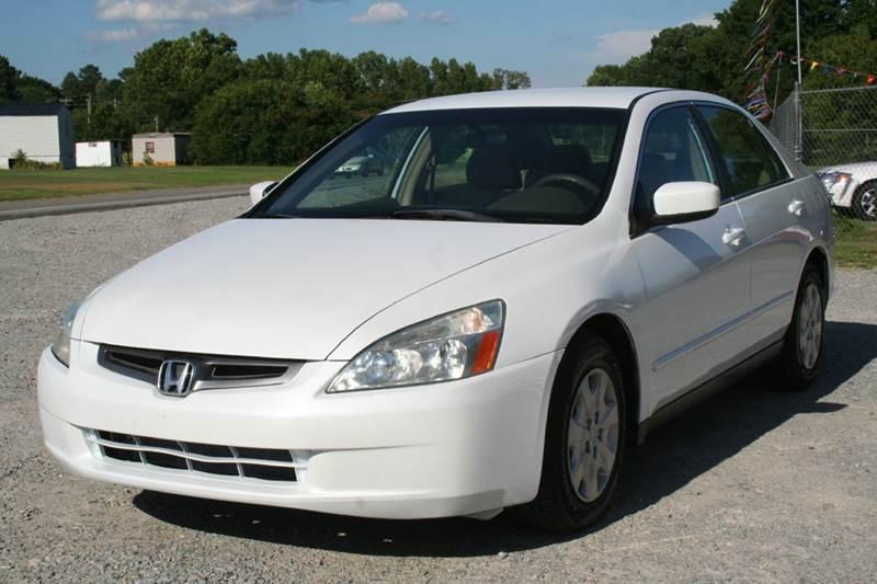 2003 Honda Accord LX 4dr Sedan   Roanoke Rapids NC