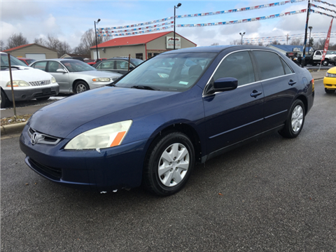 2004 Honda Accord for sale in Junction City, KY