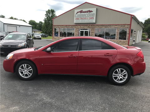 2007 Pontiac G6 for sale in Junction City, KY