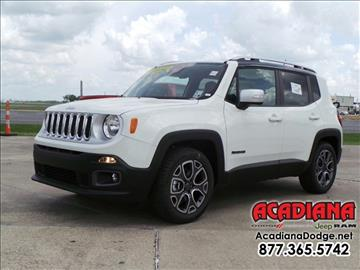 jeep renegade for sale louisiana. Cars Review. Best American Auto & Cars Review