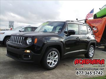 jeep renegade for sale in louisiana. Cars Review. Best American Auto & Cars Review