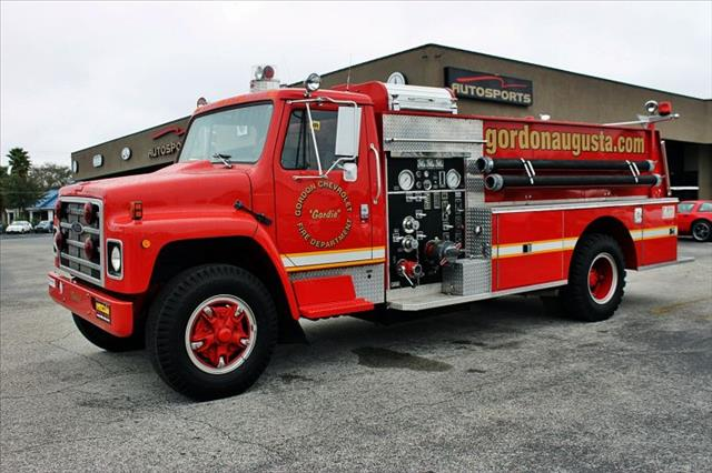 1980 International Fire Truck