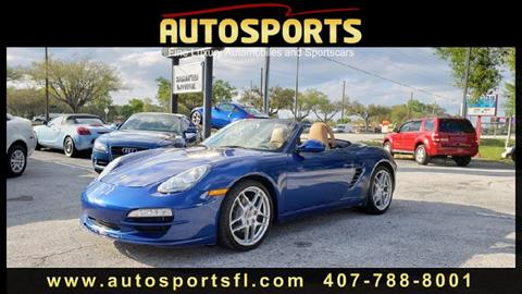 2011 Porsche Boxster for sale in Casselberry, FL