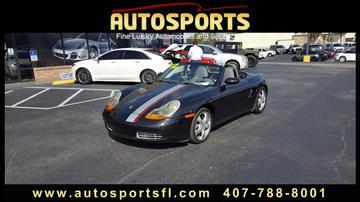 2002 Porsche Boxster for sale in Casselberry, FL