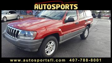 2002 Jeep Grand Cherokee for sale in Casselberry, FL