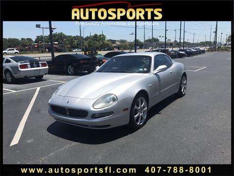 2004 Maserati Coupe for sale in Casselberry, FL