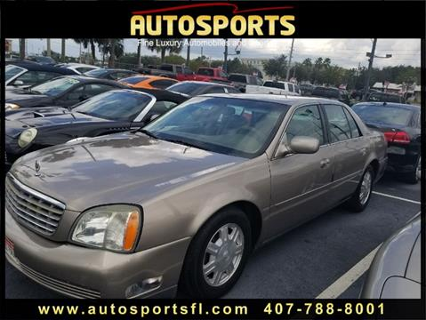 2004 Cadillac DeVille for sale in Casselberry, FL