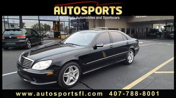 2006 Mercedes-Benz S-Class for sale in Casselberry, FL