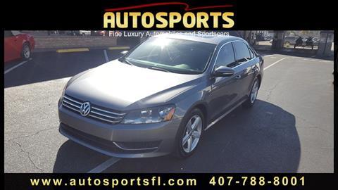 2012 Volkswagen Passat for sale in Casselberry, FL