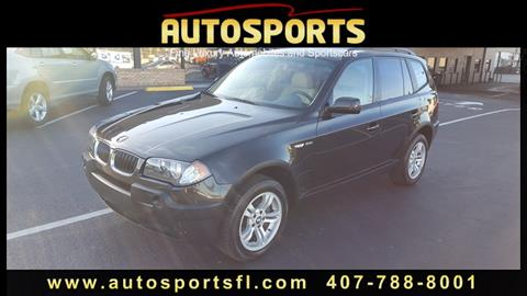 2004 BMW X3 for sale in Casselberry, FL