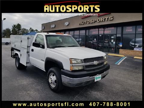 2003 Chevrolet Silverado 3500 for sale in Casselberry, FL