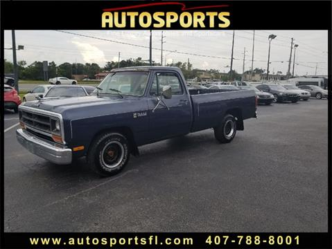 1987 Dodge RAM 150 for sale in Casselberry, FL