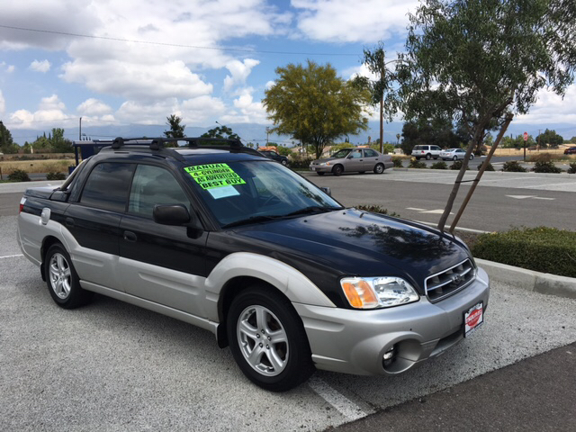 2003 subaru baja awd 4dr sport crew cab sb in rialto ca. Black Bedroom Furniture Sets. Home Design Ideas