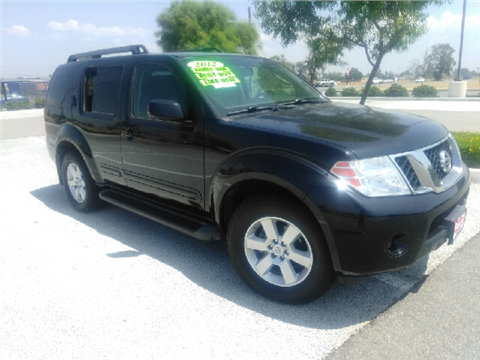 2012 Nissan Pathfinder for sale in Rialto, CA
