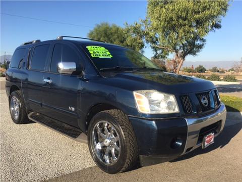 2007 Nissan Armada for sale in Rialto, CA